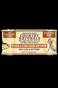 entree tuna chicken